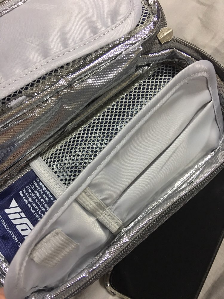 Portable Insulin Cooler Bag refrigerator Portable Medicine Insulated Bags Waterproof Oxford IceBox Aluminum Foil Icebag Pack photo review
