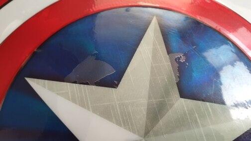 New Roundness Captain America Backpack EVA Children Canvas School Bag Gils Boys Mochila Femininas Kids Travel Shoulder Bags photo review