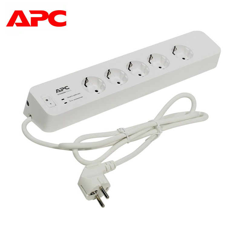 Surge protector APC Essential SurgeArrest PM5-RS surge protector apc essential surgearrest pm6 rs