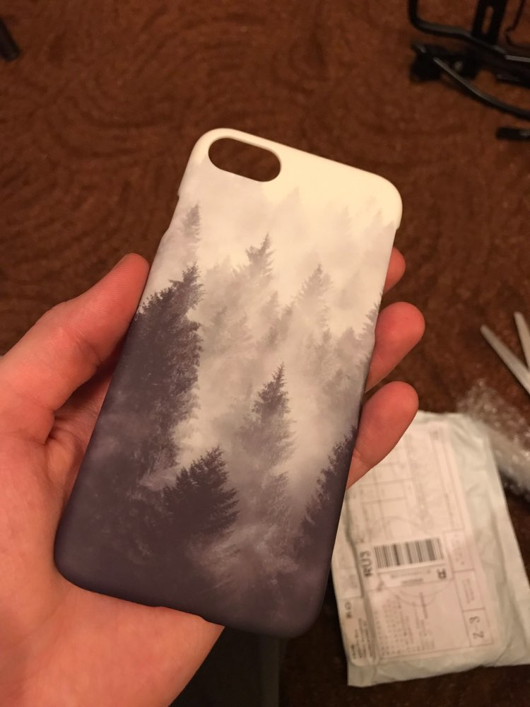 Night sky and nature iPhone cases