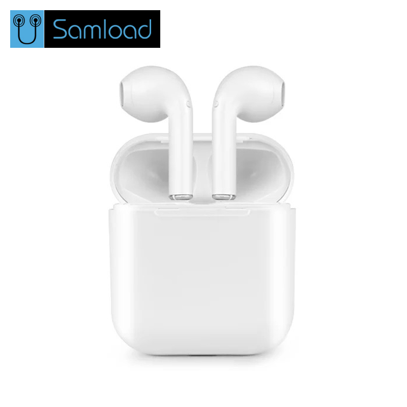 Wireless Bluetooth Earbuds i7S Tws 2018 Bluetooth Earphone Stereo Headset Charging box for iPhone Samsung Smart Phone Retail box original tws i7 earbuds true wireless earphone bluetooth headphones with charging box as powerbank noise cancel headset