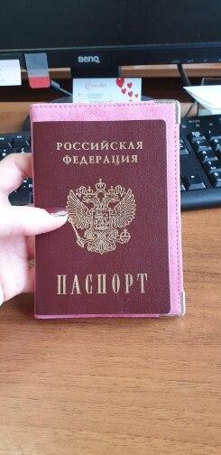 Echt leer Rusland verkopen varkensleer suееde Hoogwaardige paspoorthoes kaart tas Toerisme gaan in het buitenland reizen paspoort houder geschenken photo review