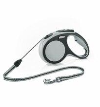 Поводок - рулетка Flexi для собак New Comfort M (до 20 кг), шнур, 5 м.