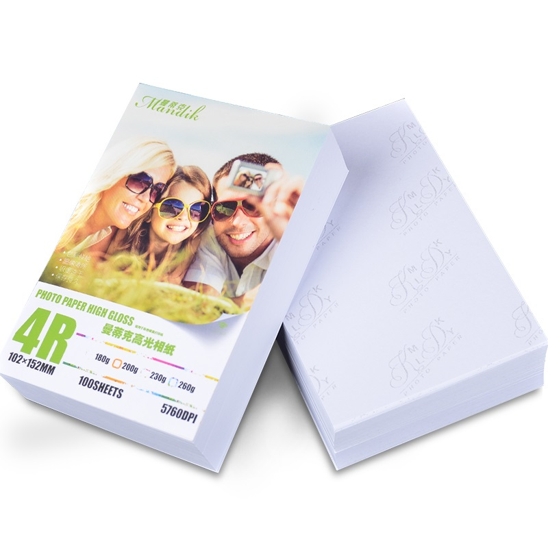 100 sheets 230g 4R(4*6) single glossy photo paper for inkjet printer цена и фото