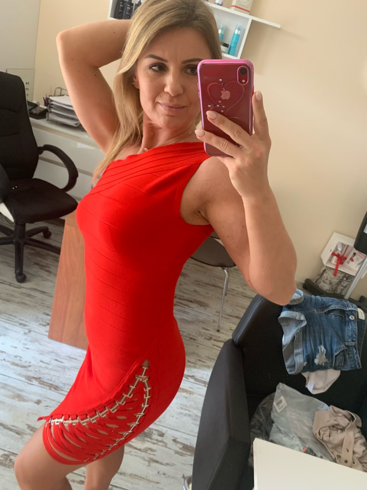 Summer Bandage Dress Women Celebrity Sleeveless One Shoulder Sequined Sexy Night Out Party Dress Women Bodycon Vestidos photo review