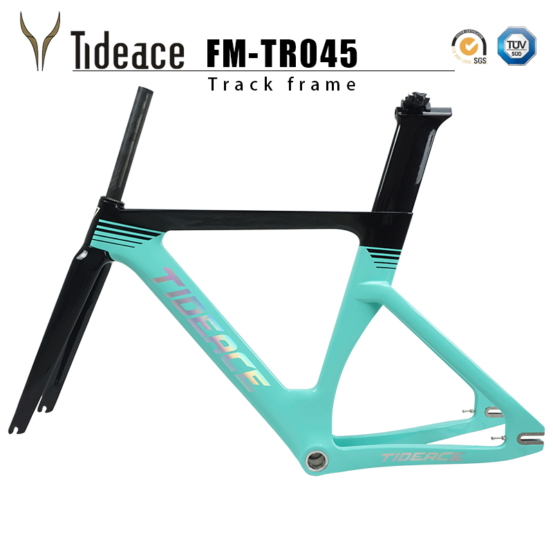 2019 new full carbon track frame Carbon Track Bike Frameset with Fork seatpost carbon fixed gear