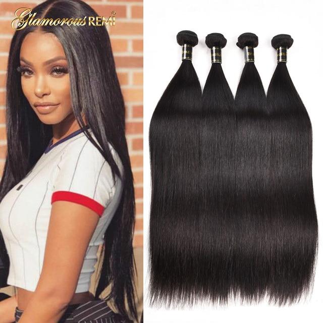 8a Brazilian Virgin Straight Hair 3 4 Bundles 100 Unprocessed Human