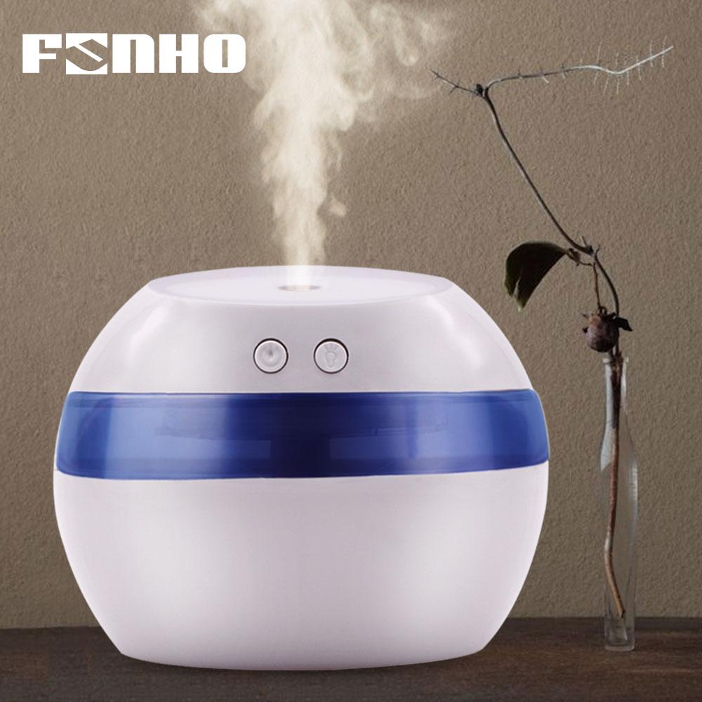 FUNHO 300ml Air Aroma Humidifier Essential huile Oil Diffuser Aromatherapy Night Light Ultrasonic Mist Maker Humidificador 002 цена и фото