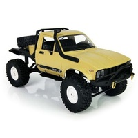 WPL C14 1:16 2.4G 2CH 4WD Mini Off road RC Car Toy with Metal Chassis / TPR Tires / 15km/h Top Speed