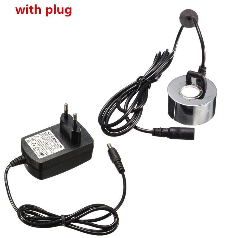 45mm Ultrasonic Humidifier Mist Maker With EU Plug / No Plug Fogger Water Fountain Pond Atomizer Head Air Humidifier