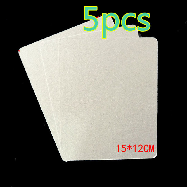 US $5 64 15% OFF|5pcs 12*15cm Spare parts for microwave ovens mica  microwave mica sheets microwave oven plates-in Microwave Oven Parts from  Home