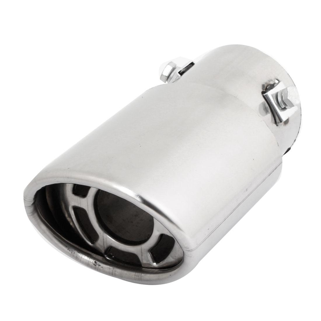 X Autohaux font b Car b font Double Layers 6Cm Inlet Inside Diameter font b Exhaust