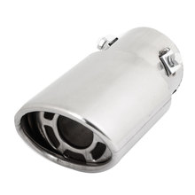 X Autohaux Car Double Layers 6Cm Inlet Inside Diameter Exhaust Muffler Tip
