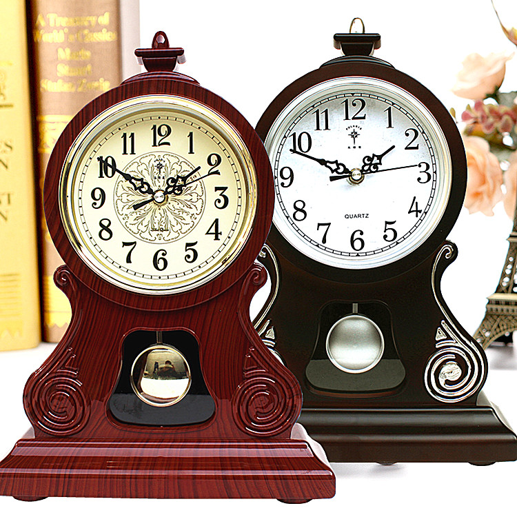 Ora e Tabelës Orë Vintage Klasike Klasike, Salla e Uljes TV Kabinet - Dekor në shtëpi - Foto 2