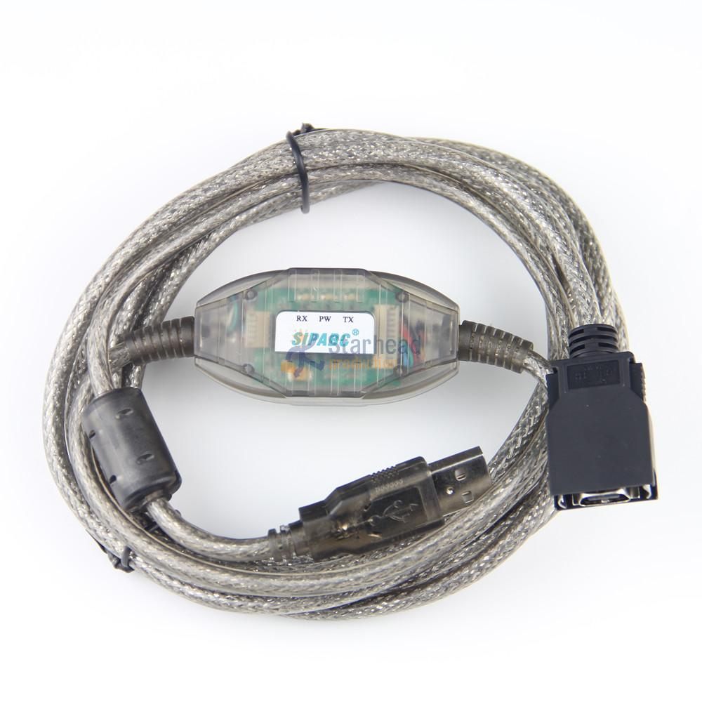 Usb-cn226 Usb Programming Cable Ft232rl For Omron Cj Cs Cqm1h Cpm2c Plc Win7/8 Elegant In Smell