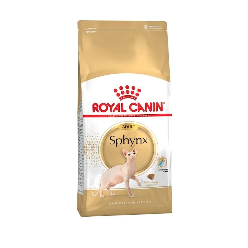 Royal Canin Sphynx Adult для взрослых кошек породы сфинкс, 2 кг