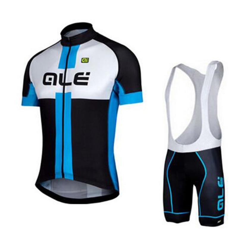 Sportswear Bike Cycling Jersey Cycling Jersey Suit Short Sleeve Bike Clothing Bicycle Bib Shorts ALE Cycling Set Ropa Ciclismo nuckily ma008 mb008 men short sleeve bicycle cycling suit