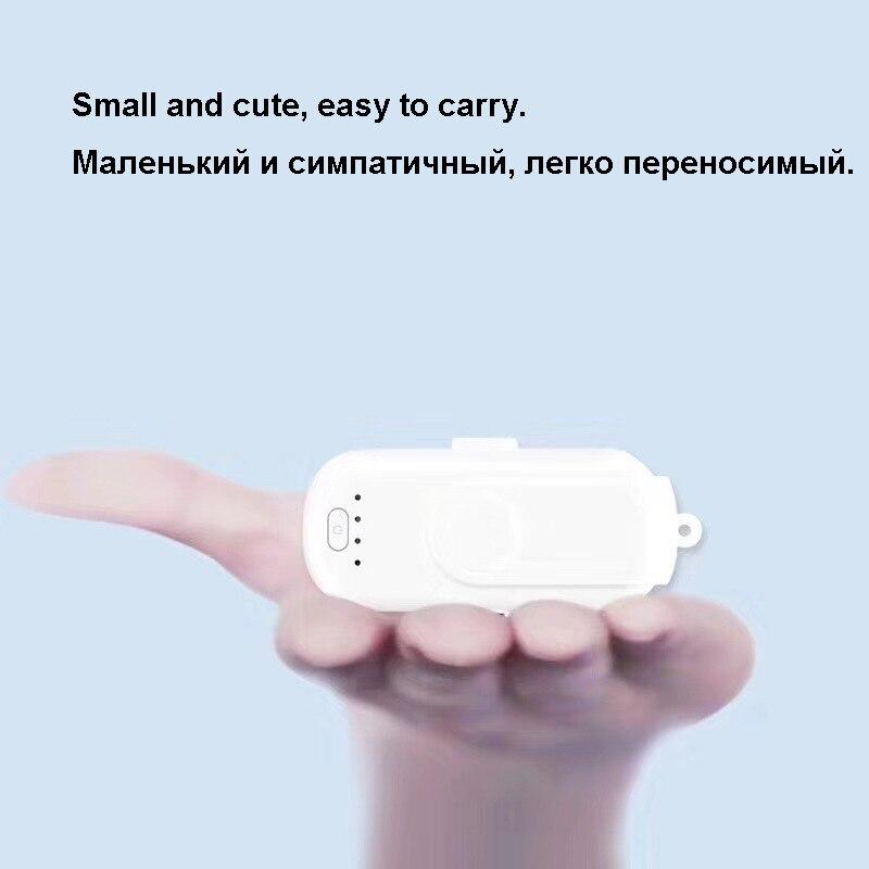 XIN-MUM Pad Doigt 5 Paquets De Charge Powerbank attraction Magnétique batterie externe chargeur pour iphone Android Type C Moblie Téléphones - 3