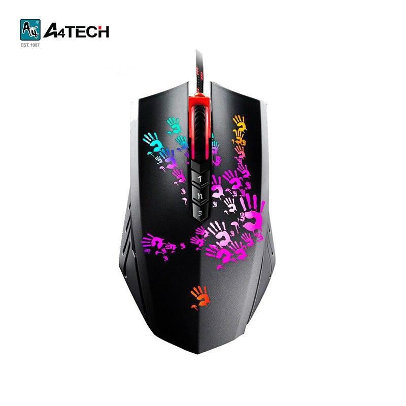 Купить со скидкой Игровая мышь A4Tech Bloody A6, optical, USB
