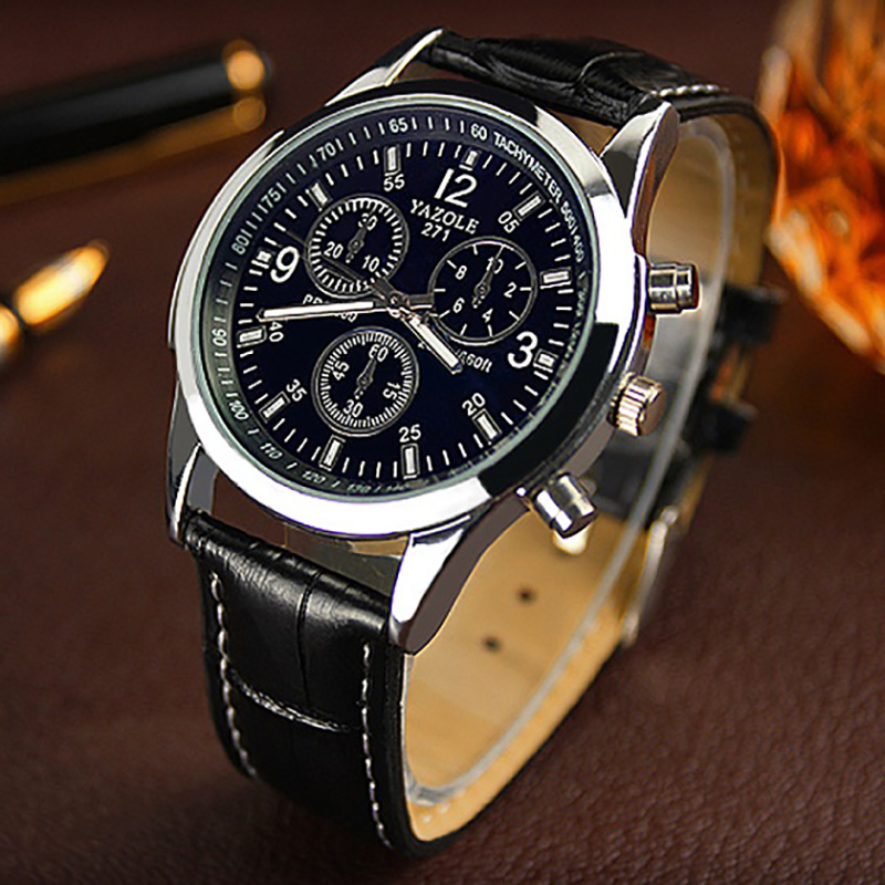 Wrist Watch  For Men Leather Bussiness Men's Watches 2018 Top Brand - Men's Watches