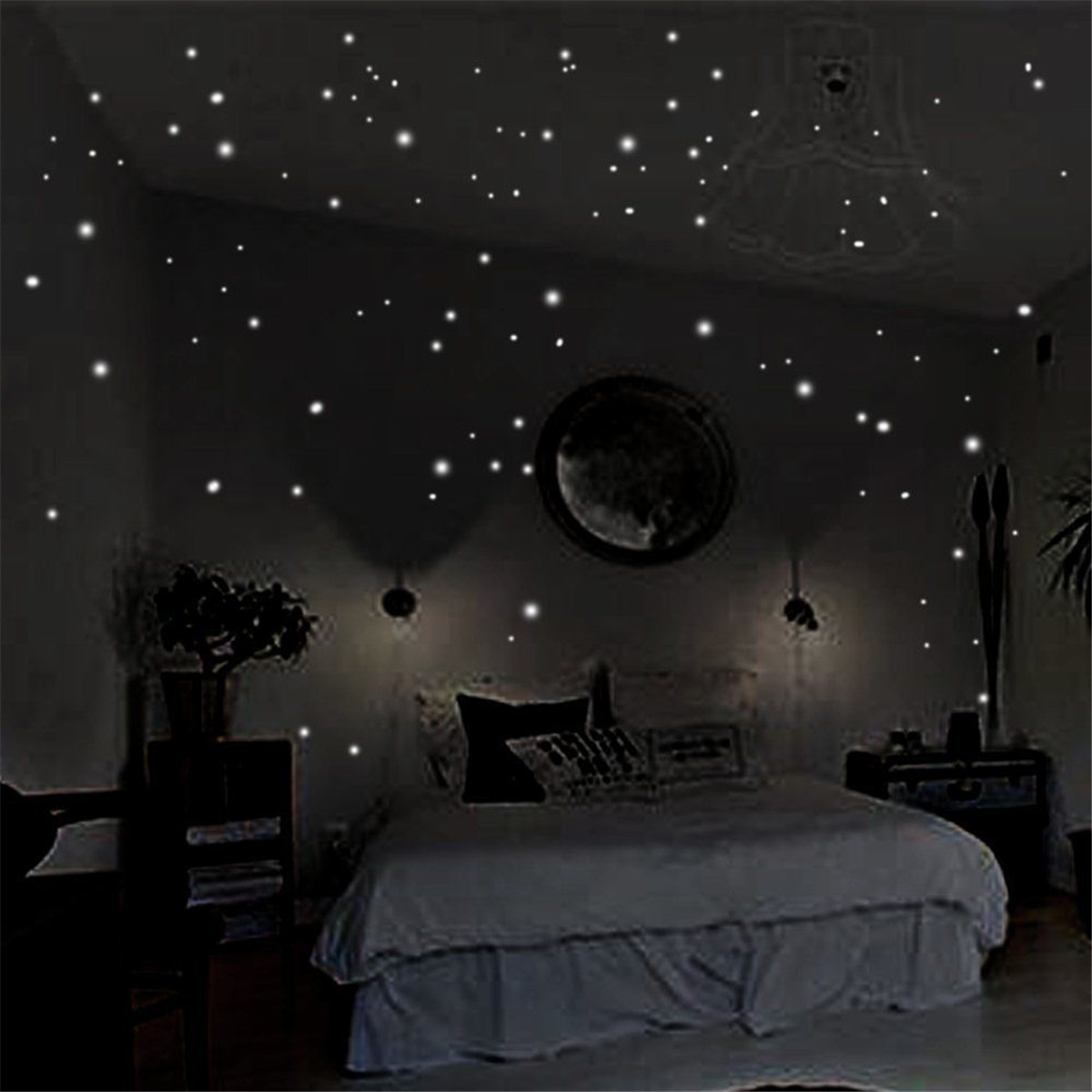 Buy Glow In The Dark Wall Stickers 400pcs
