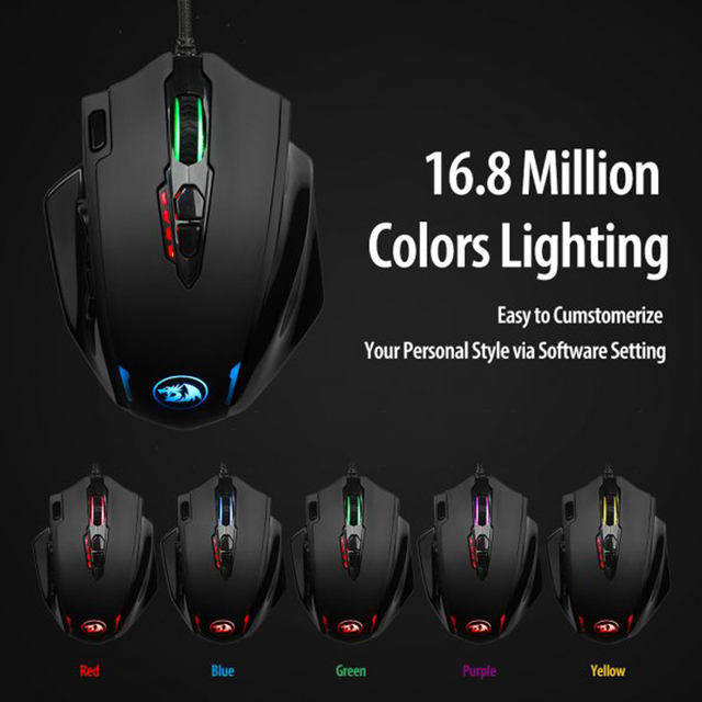 Redragon M908 IMPACT Gaming Mouse 5