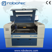 ROBOTEC 6090 cnc laser machine for metal/ mini cnc laser metal cutting machine/laser cutter metal machine