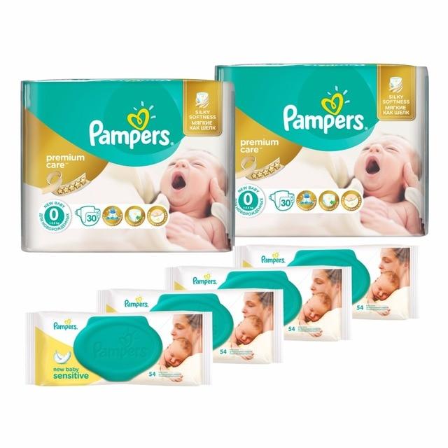 couches pour enfants pampers prime soins 1 2 5 kg couche 0 taille couche 60 pcs