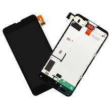 STARDE Replacement LCD For Nokia Lumia 630 LCD Display Touch Screen Digitizer Sense Assembly Frame 4.5