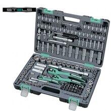 Набор инструментов STELS 14114 (151 предмет из высококачественной стали, кейс в комплекте)