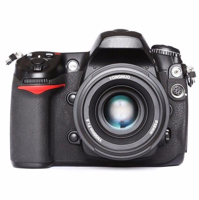 YONGNUO YN EF 50mm f/1.8 AF Lens YN50 Aperture Auto Focus for Nikon DSLR Cameras Lenses yongnuo yn35mm af mf fixed focus camera lens f2n f2 0 wide angle f mount for nikon d7200d7100 d300 d5500 d500 dslr free lens bag