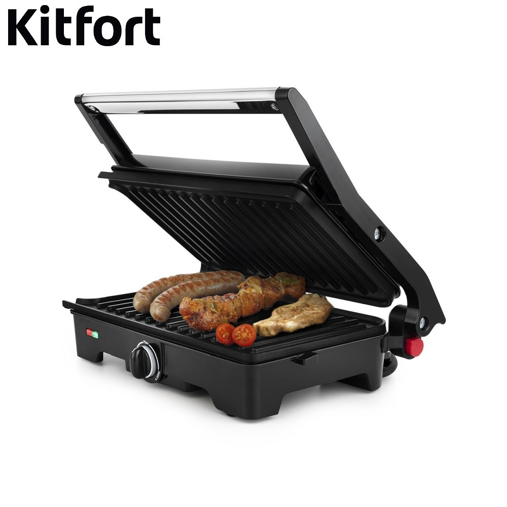Grill Kitfort KT-1645 Electrical Grill home kitchen appliances Lazy barbecue Grill electric grill 79