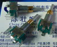 2PCS Double EC11EBB24C03 Double Encoder with Switch 30 Positioning 15 Pulse Point Handle 25mm