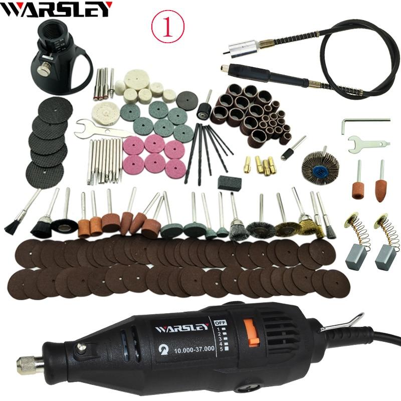 Electric Drill Dremel Grinder 180W Engraving Pen Grinder Mini Drill DIY Drill Electric Rotary Tool Mini-Mill Grinding Machine