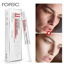 ROREC Anti-Wrinkle Hyaluronic Acid Injection Collagen Face Serum Liquid Tights Anti AgingFacail Essence Moisturizing Whitening moistfull collagen