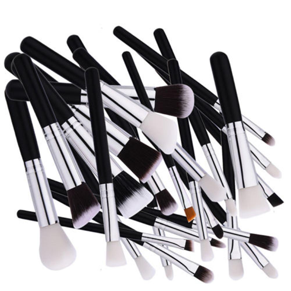25pcs Pro Makeup Cosmetic Eye shadow Brushes Set Powder Foundation Lip Brush Tool