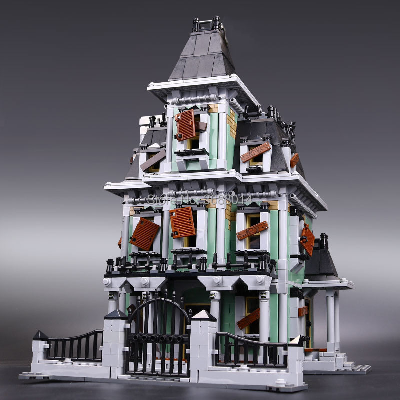 2141Pcs The haunted house Model set Building Kits Block toy 16007 DIY Monster fighter Educational blocks toys for children 81pcs set assemblled gear block montessori educational toy plastic building blocks toy for children fun block board game toy