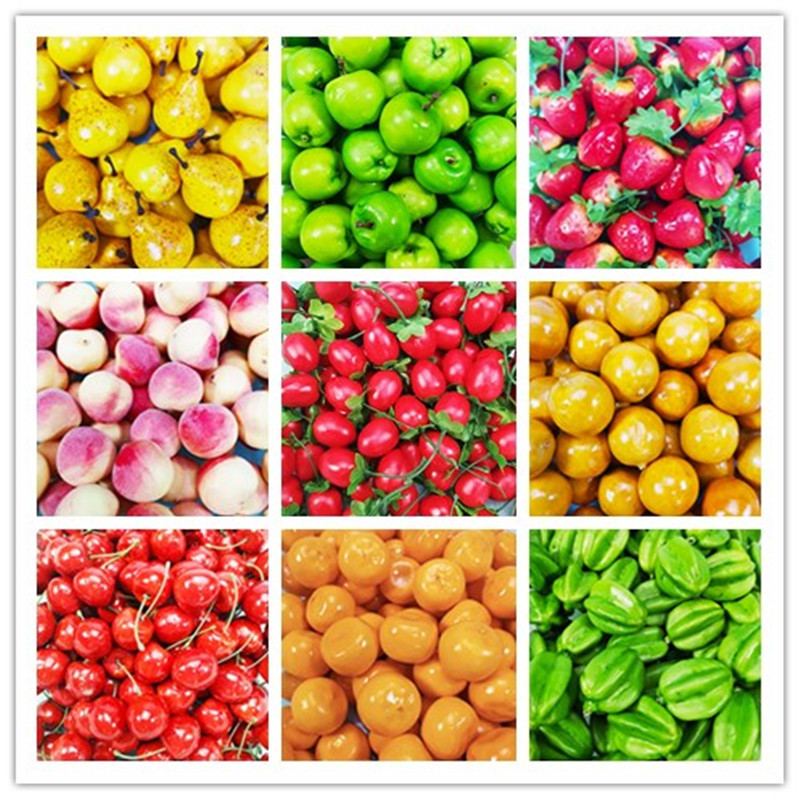 Happy Monkey Slime Supplies Toys Mini Simulation Fruit Charms DIY Accessories Filler For Fluffy Clear Slime Clay