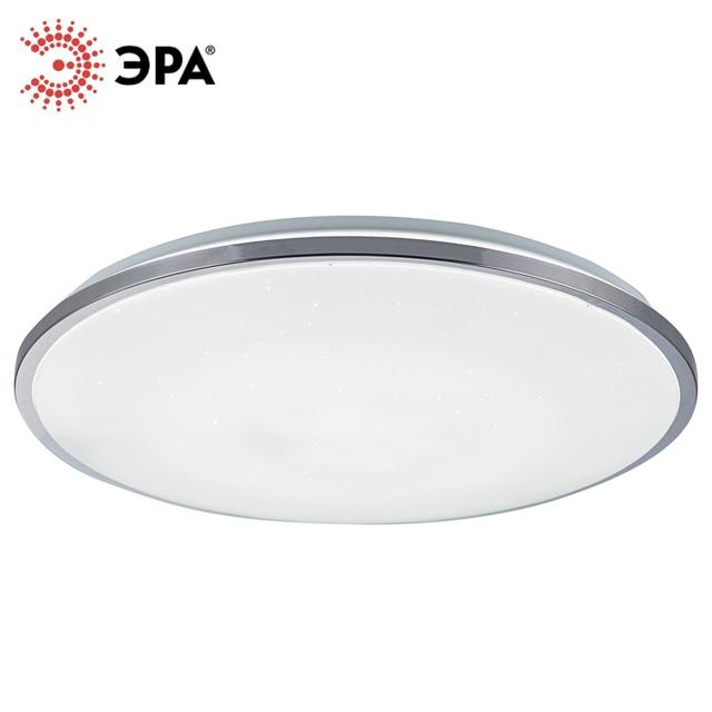 ЭРА SPB-6 Светодиодный управляемый светильник 60Вт с пультом ДУ Chrome 60 490*66
