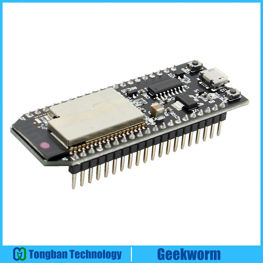 US $12 79 20% OFF|Geekworm ESP32 WROVER Development Board with 8MB PSRAM  WiFi+Bluetooth Low Power Consumption Dual Cores ESP32-in Demo Board from