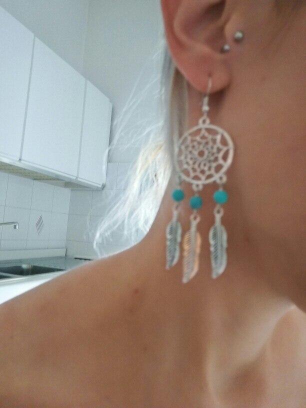 Bohemian Dream Catcher Earrings photo review