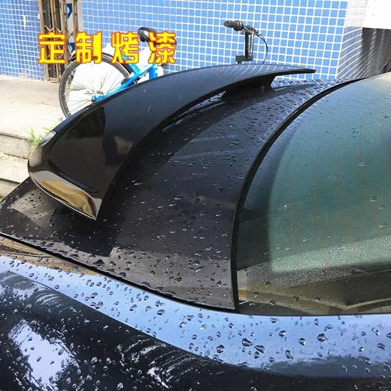 ABS Primer Rear spoiler car trunk lip auto boot wing spoilers For Jaguar XF 2012 2013 2014 2015 for hyundai elantra spoiler 2012 2013 2014 2015 car tail wing decoration abs plastic unpainted primer rear trunk spoiler
