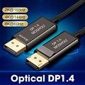 MOSHOU Optische DP 1.4 Kabels Displayport Fiber HDR 8K @ 60Hz 4K @ 144Hz 32.4 Gbps 1 M 2 M 3 M 5 M 8 M 10 M Displayport Optische Kabels