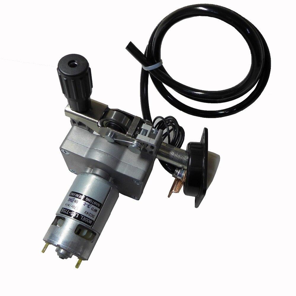 24 В ZY775 LRS-775S провод подачи в сборе провода Фидер мотор евро разъем MIG MAG сварочный аппарат