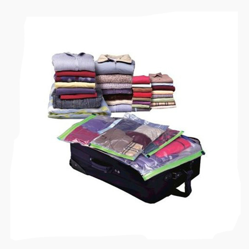 10pcs Lot Vacuum Storage Bags Home Roll Up Clothing Supplies Household Organizer Handy Camping Luggage Traveling In From