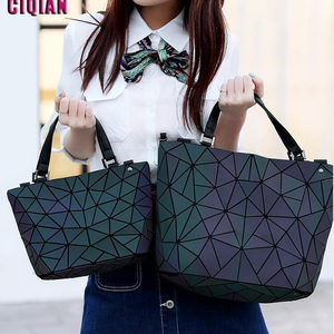 Drop Shipping HOT Luminous bag Women Geo