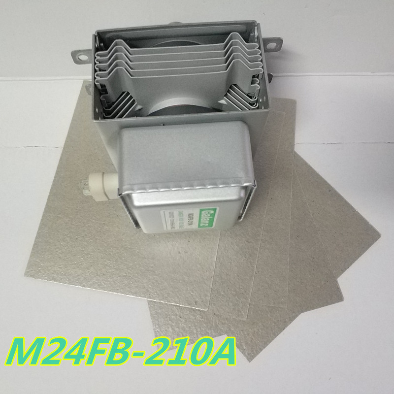 M24FB-210A Galanz magnetron +5pcs 12*15cm microwave ovens mica Microwave oven spare parts