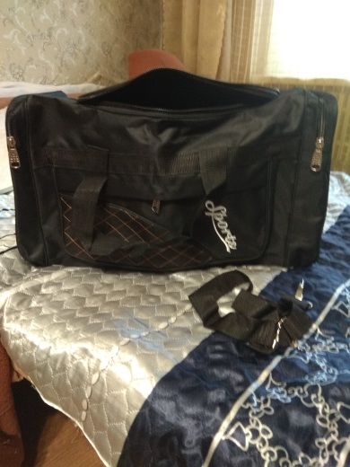 Large Capacity Travel Bags Men Women Waterproof Shoulder Travel Duffle Bags Oxford Cloth Big Travel Handbag Folding Bag For Trip photo review