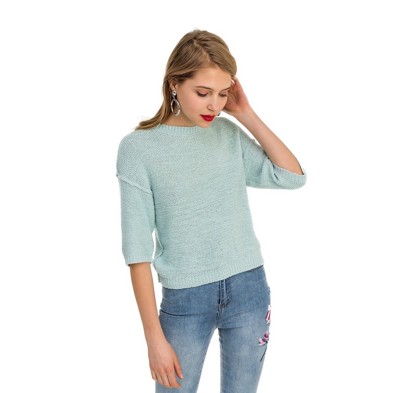 Sweaters jumper befree for female acrylic sweater long sleeve women clothes apparel  turtleneck pullover 1811486854-19 cutout dolman sleeve jumper