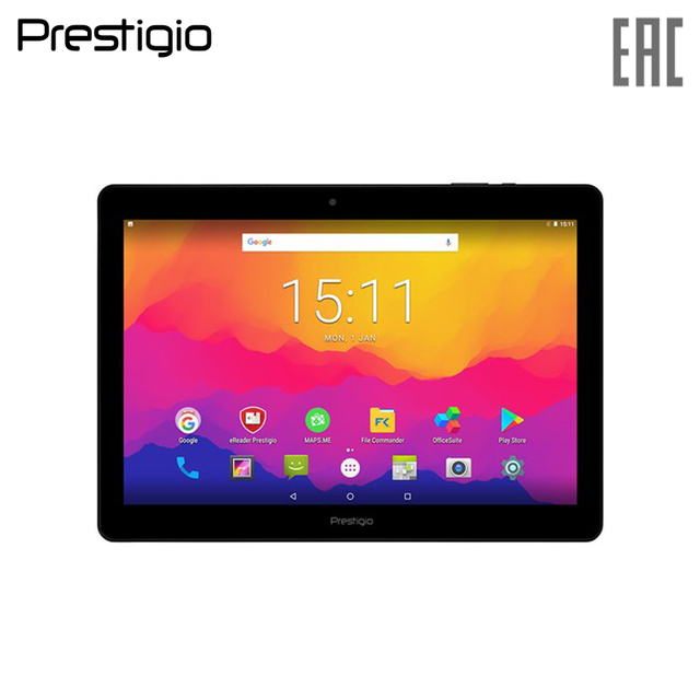 Планшет Prestigio Wize 3151 3G 10.1'' 800x1280 IPS/Android 7.0/1.3GHz quad core/1GB DDR/16GB Flash/5000mAh